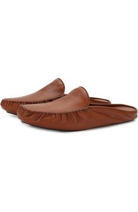 Домашние кожаные туфли | Фото №1
