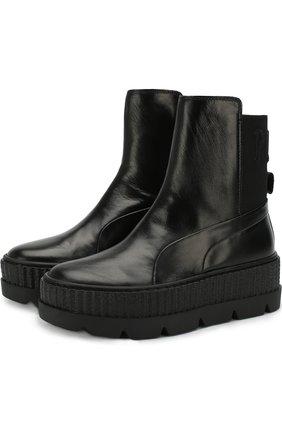 Кожаные ботинки Fenty X Puma by Rihanna | Фото №1