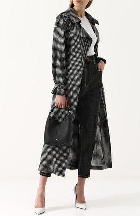 Сумка Mini Build a Bag Anya Hindmarch черная цвета | Фото №1