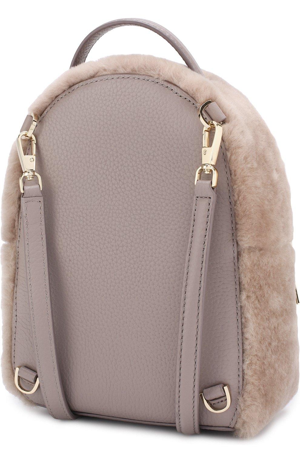 Рюкзак Finer Things с отделкой из овчины | Фото №3