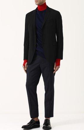 Классические кожаные дерби Premiata черные | Фото №1