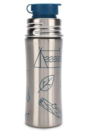 Детского металлическая бутылка AFFENZAHN голубого цвета, арт. AFZ-B0T-001-347 | Фото 2