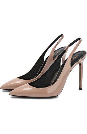 Кожаные туфли Anja на шпильке | Фото №1