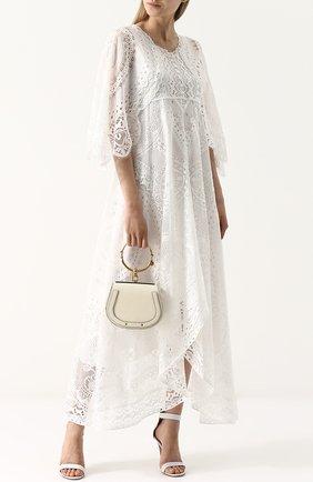 Женская сумка nile CHLOÉ белого цвета, арт. CHC17US301HEU308 | Фото 2