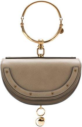 Женская сумка nile minaudière CHLOÉ серого цвета, арт. CHC17US302H5H23W   Фото 1