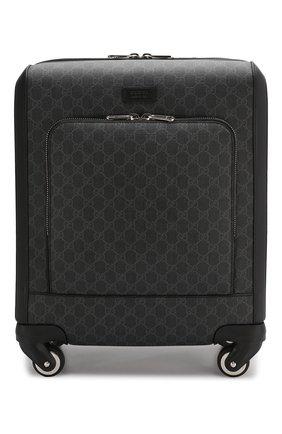 Дорожный чемодан GG Supreme на колесиках   Фото №1