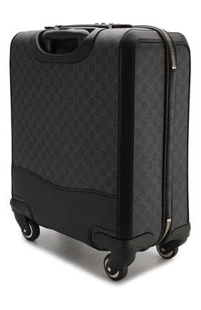 Дорожный чемодан GG Supreme на колесиках   Фото №2