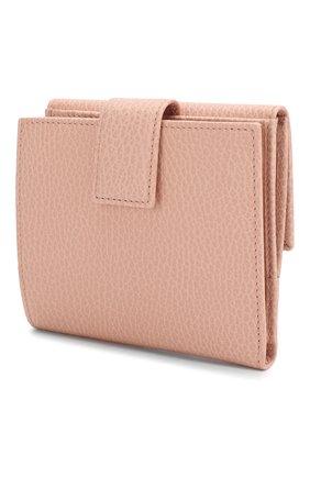 Женские кожаное портмоне GUCCI розового цвета, арт. 456122/CA00G | Фото 2