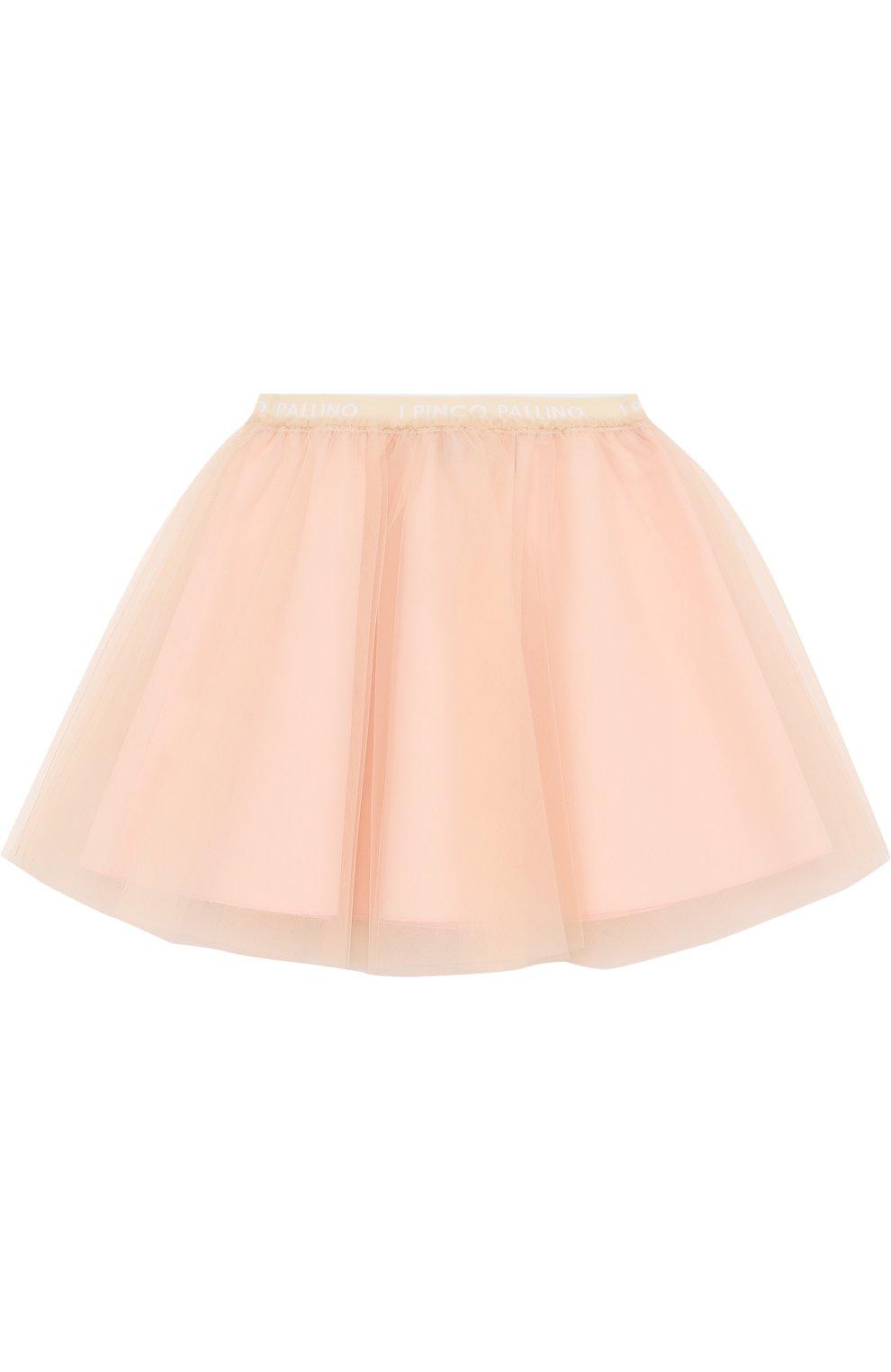 Многослойная юбка-миди с эластичным поясом | Фото №2