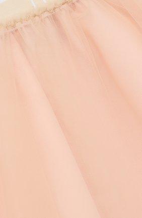 Многослойная юбка-миди с эластичным поясом | Фото №3