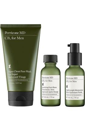Мужское набор men's travel essentials cbx for men PERRICONE MD бесцветного цвета, арт. 651473074731 | Фото 1 (Статус проверки: Проверена категория)