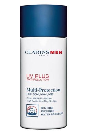 Защитный флюид-экран для мужчин UV Plus Anti-Pollution SPF 50 | Фото №1