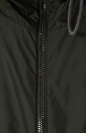 Двусторонняя куртка на молнии с капюшоном | Фото №5