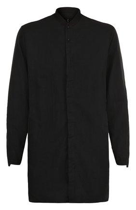 Удлиненная хлопковая рубашка   Фото №1