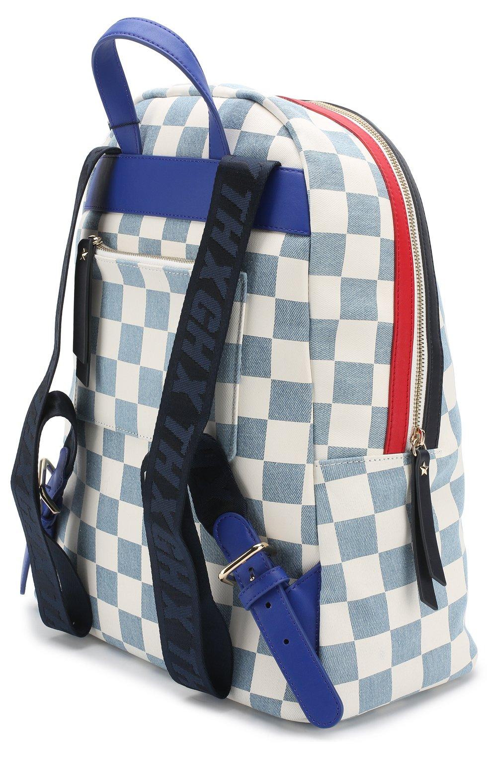 e516136b6c9d Рюкзак Gigi Hadid x Tommy Hilfiger Tommy Hilfiger by Gigi Hadid голубой |  Фото №3