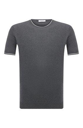 Мужской хлопковый джемпер GRAN SASSO темно-серого цвета, арт. 57136/20688 | Фото 1
