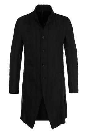 Удлиненный пиджак из смеси льна и вискозы   Фото №1
