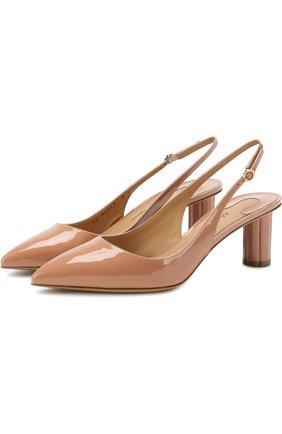 Лаковые туфли Buti на фигурном каблуке | Фото №1