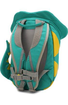 Детская рюкзак с декоративной отделкой AFFENZAHN зеленого цвета, арт. AFZ-FAS-001-020 | Фото 2
