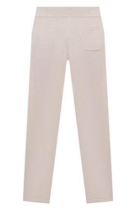 Детского кашемировые брюки LORO PIANA серого цвета, арт. FAG4728   Фото 2