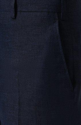 Льняные бермуды с карманами | Фото №5