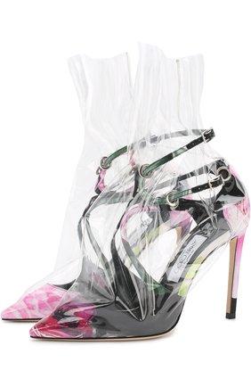 Туфли Claire на шпильке Jimmy Choo x OFF-WHITE | Фото №1