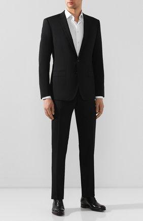 Мужской шерстяной костюм DOLCE & GABBANA черного цвета, арт. GK0EMT/FUBEC | Фото 1