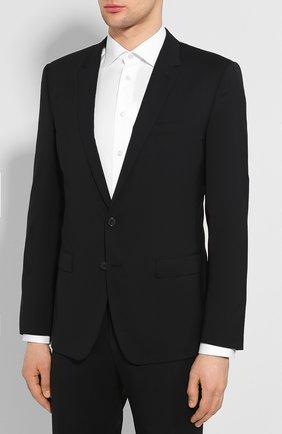 Мужской шерстяной костюм DOLCE & GABBANA черного цвета, арт. GK0EMT/FUBEC | Фото 2