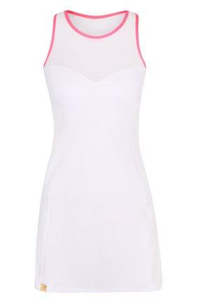 Приталенное спортивное мини-платье | Фото №1