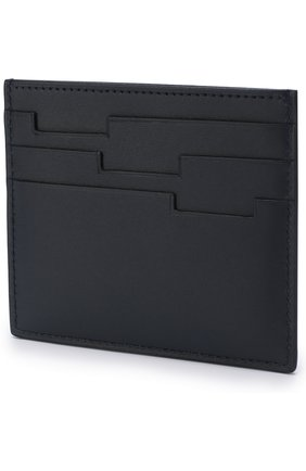 Мужской кожаный футляр для кредитных карт  ZILLI темно-синего цвета, арт. MJL-0WC02-10300/0001 | Фото 2