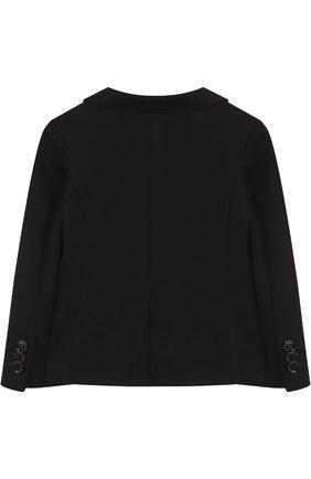 Пиджак из хлопка на двух пуговицах | Фото №2