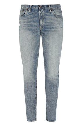 Мужские джинсы RRL голубого цвета, арт. 782658897 | Фото 1