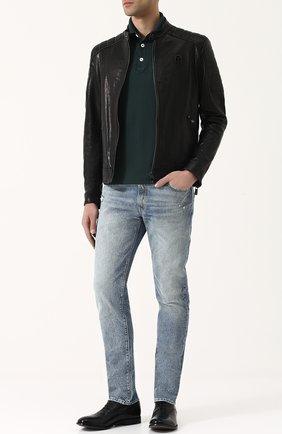 Мужские джинсы RRL голубого цвета, арт. 782658897 | Фото 2