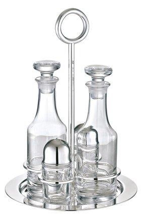Набор из солонки, перечницы и 2-х бутылок Vertigo | Фото №1
