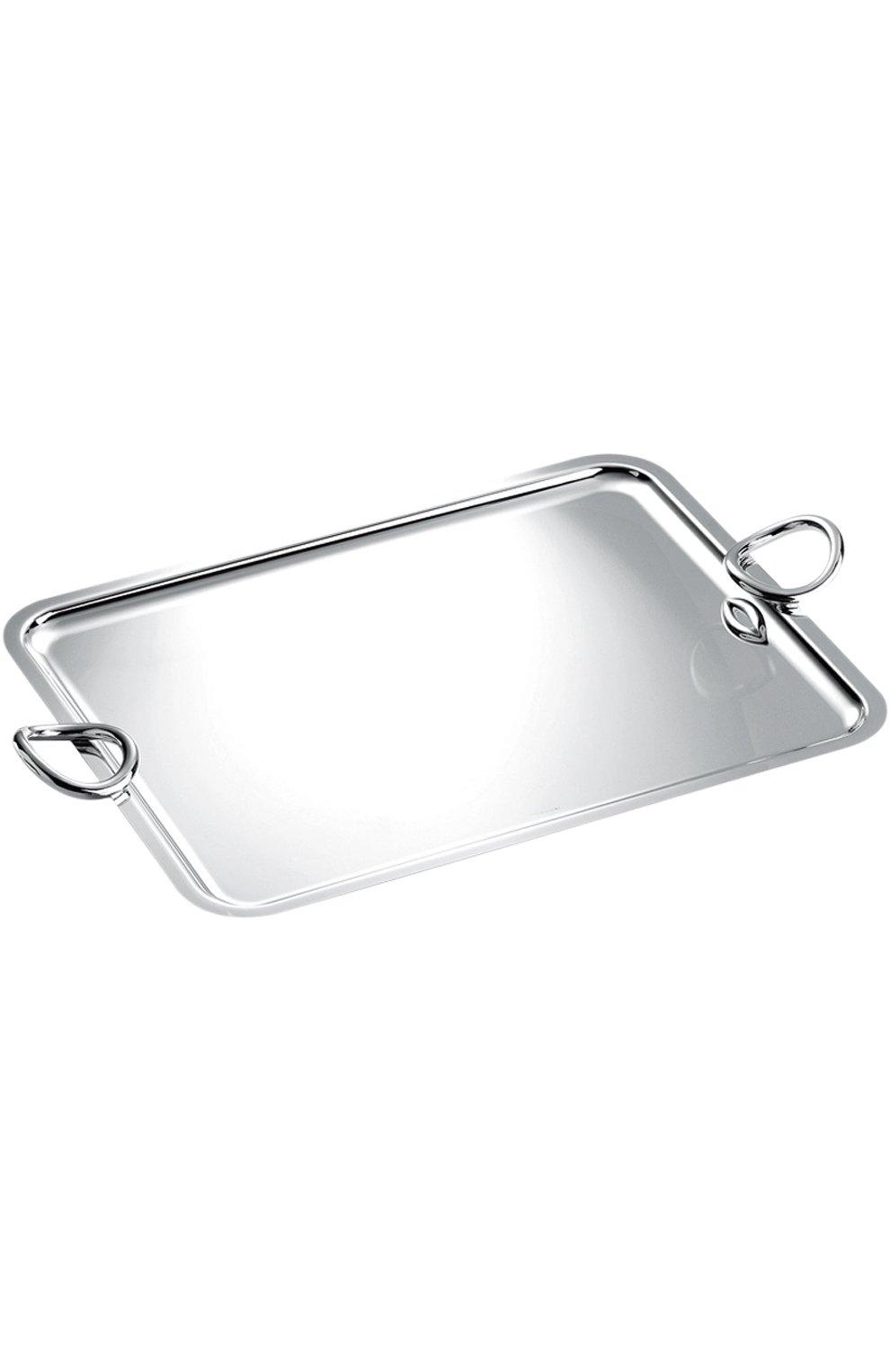 Мужского поднос vertigo CHRISTOFLE серебряного цвета, арт. 04200300 | Фото 1