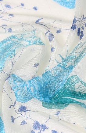 Платок Fiori Del Lago из смеси кашемира и шелка | Фото №2