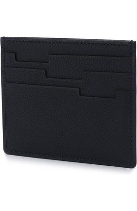 Мужской кожаный футляр для кредитных карт ZILLI темно-синего цвета, арт. MJL-0WC02-13260/0001 | Фото 2