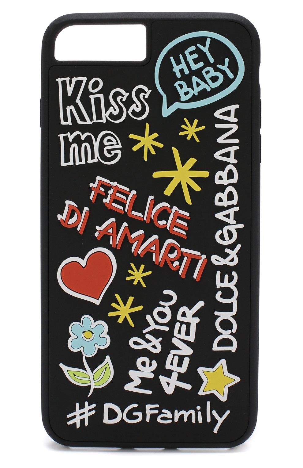 Чехол для iPhone 8 Plus с принтом Dolce & Gabbana  | Фото №1