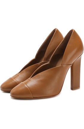 Кожаные туфли Lucie на устойчивом каблуке | Фото №1