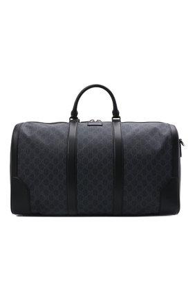 Дорожная сумка GG Supreme с плечевым ремнем | Фото №1