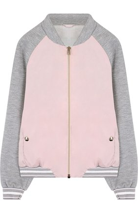 Текстильная куртка-бомбер   Фото №1