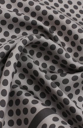 Мужской шелковый платок с узором TOM FORD серого цвета, арт. 3TF102/TF312 | Фото 2
