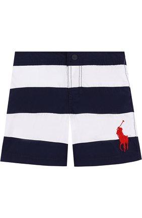 Плавки-шорты в полоску | Фото №1