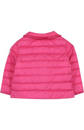Детского пуховая куртка с оборками IL GUFO фуксия цвета, арт. P18GR108N0035/2A-4A | Фото 2