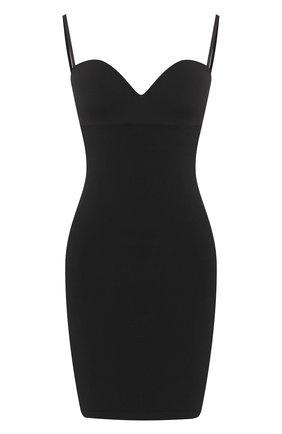 Женская корректирующее платье WOLFORD черного цвета, арт. 51182 | Фото 1