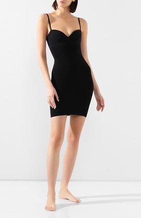 Женская корректирующее платье WOLFORD черного цвета, арт. 51182 | Фото 2