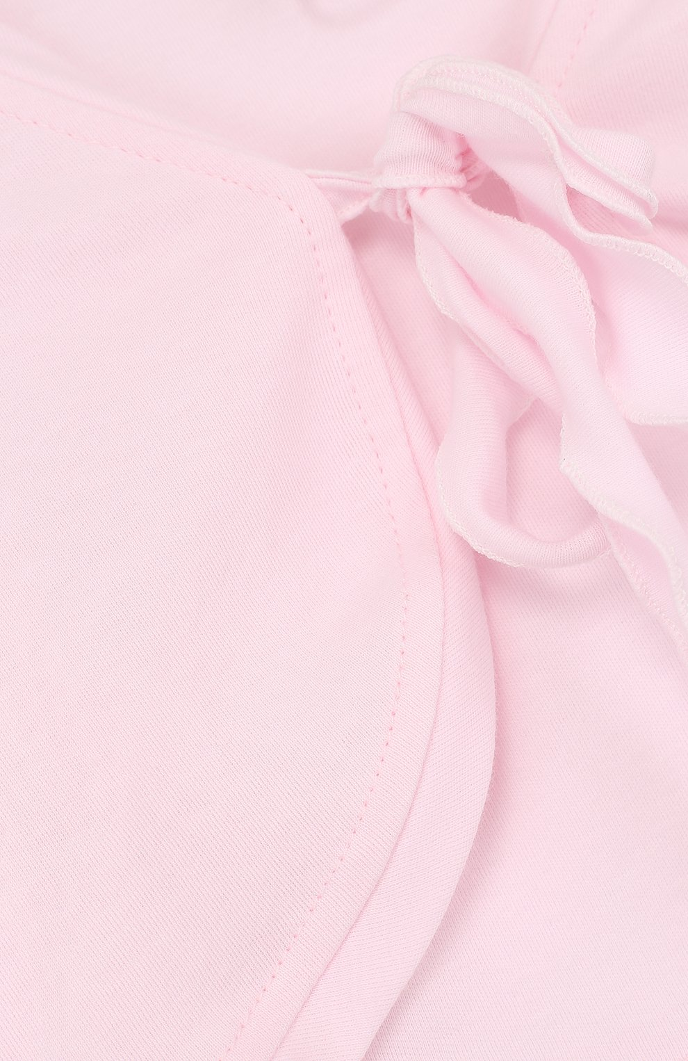 Детский хлопковое болеро ALETTA розового цвета, арт. RJ88648/24M | Фото 3
