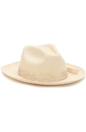 Соломенная шляпа Artesano бежевого цвета | Фото №1