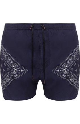 Плавки-шорты с узором пейсли   Фото №1
