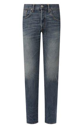 Мужские джинсы RRL синего цвета, арт. 782504838 | Фото 1